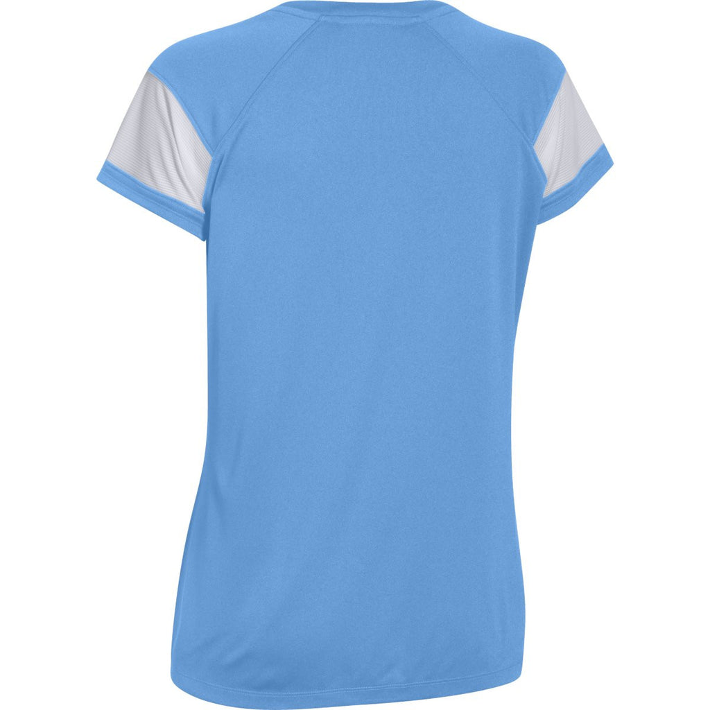 Under Armour Women's Carolina Blue Zone S/S T-Shirt