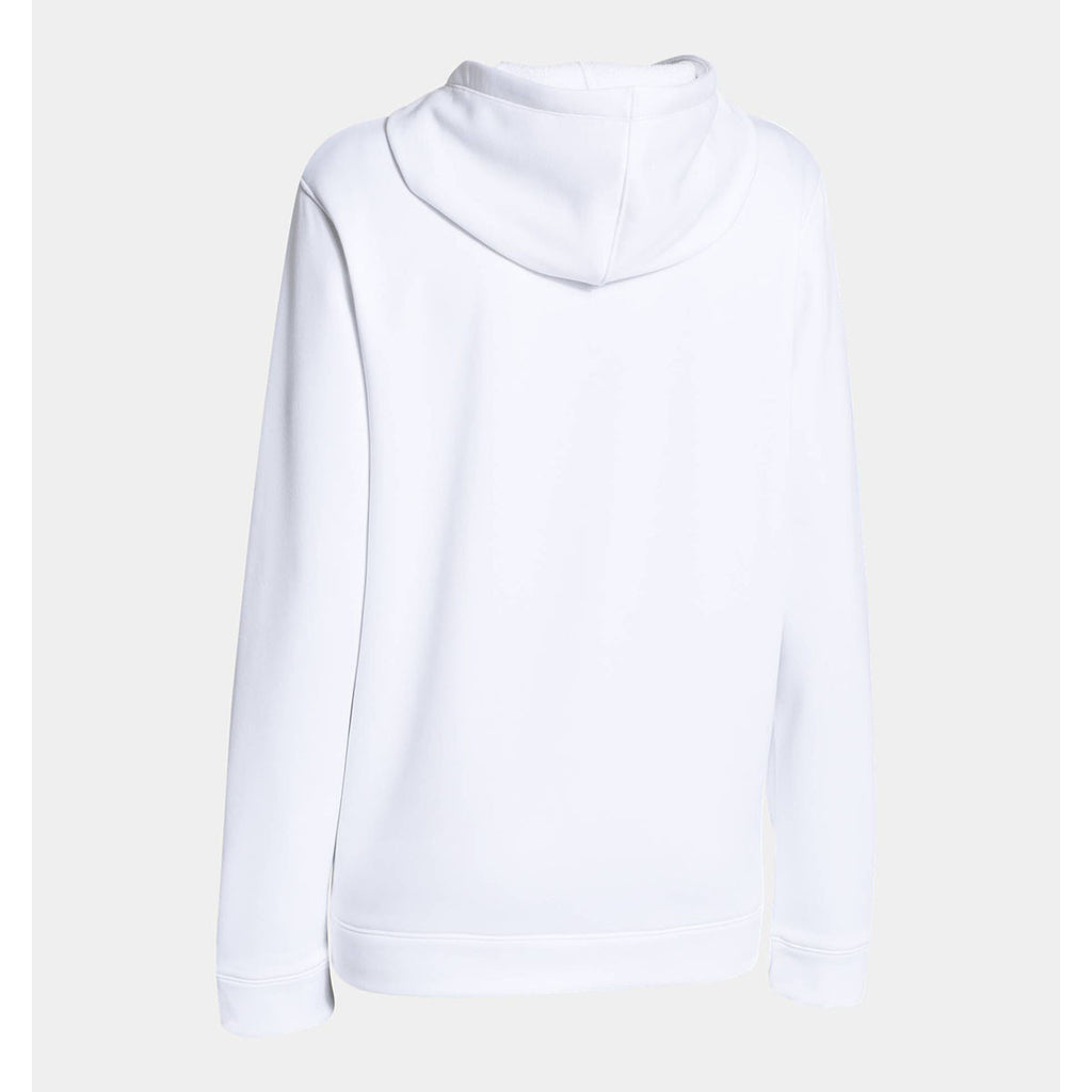 Under Armour Women's White Storm Armour Fleece Hoodie