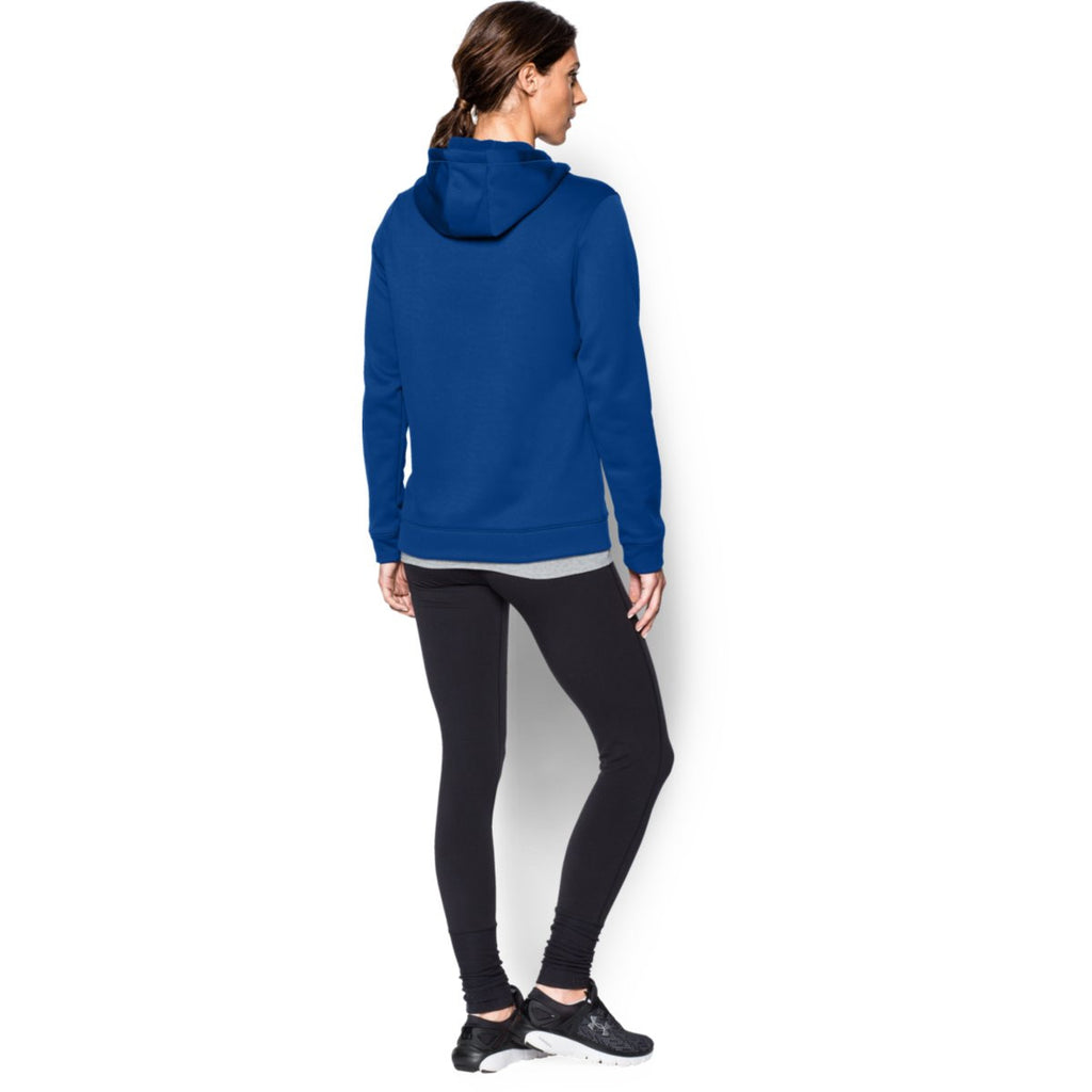 Under Armour Women's Royal Storm Armour Fleece Hoodie