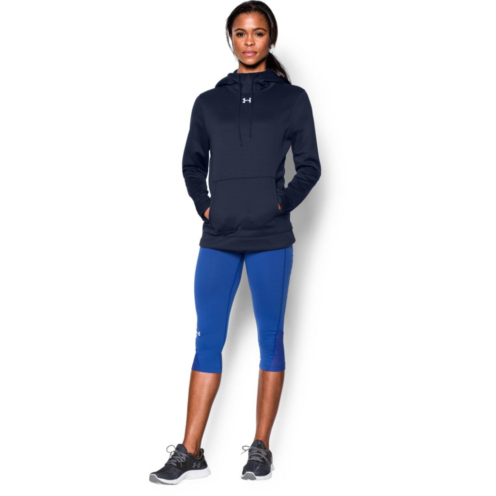Under Armour Women's Midnight Navy Storm Armour Fleece Hoodie