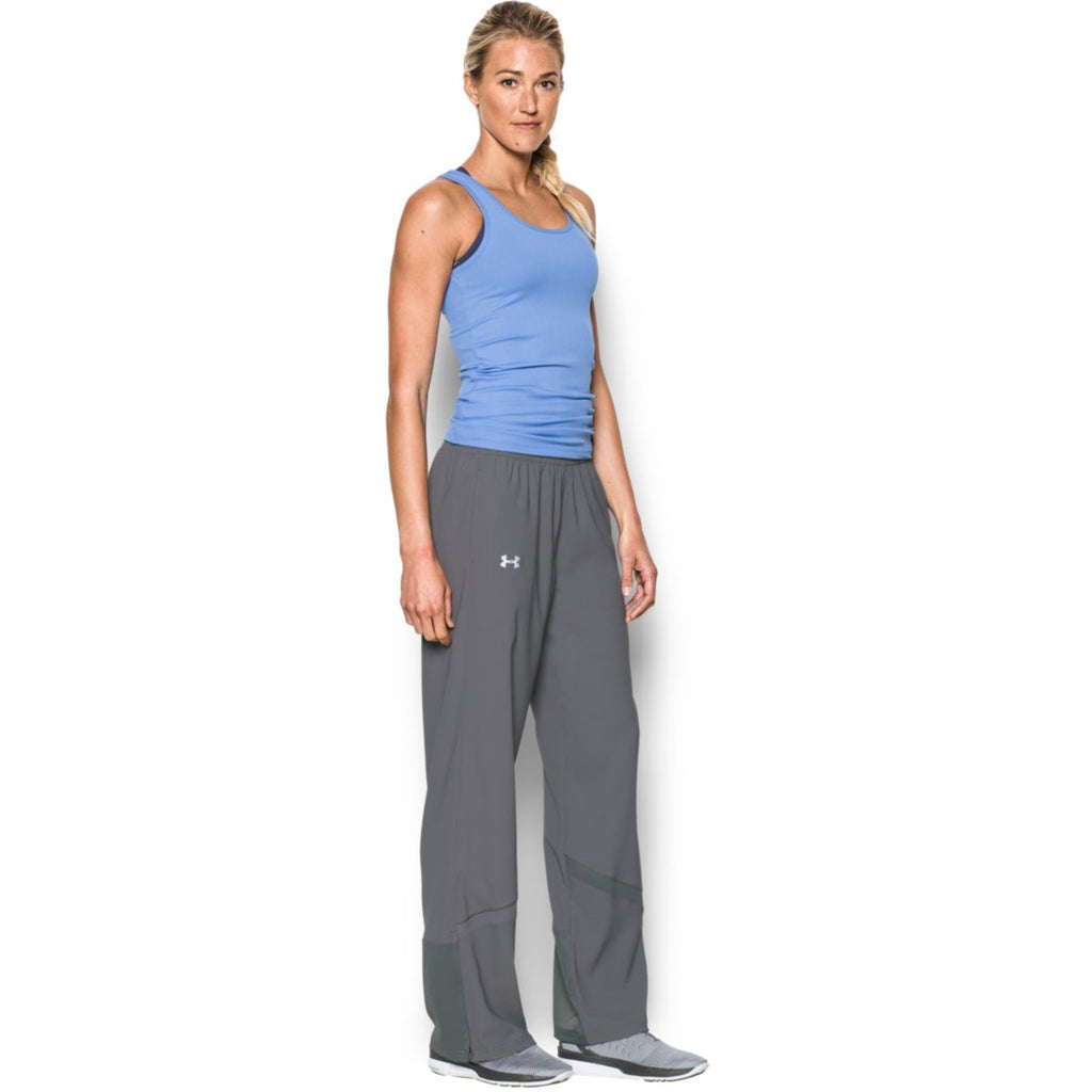 Under Armour Women's Graphite Pre-Game Woven Pant
