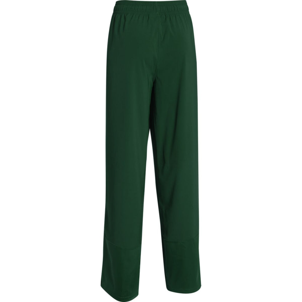 Under Armour Women's Green Pre-Game Woven Pant