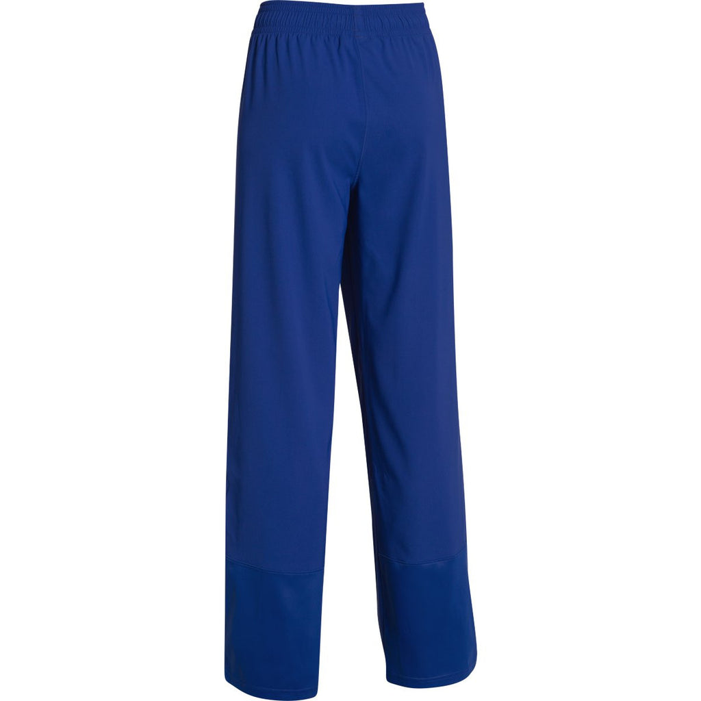 Under Armour Women's Royal Pre-Game Woven Pant