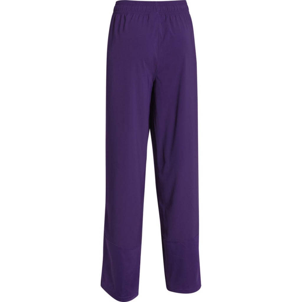 Under Armour Women's Purple Pre-Game Woven Pant
