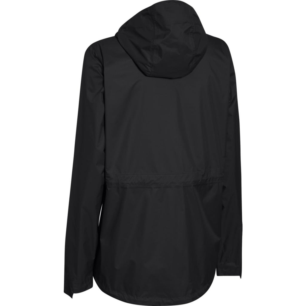 Under Armour Women's Black Ace Rain Jacket