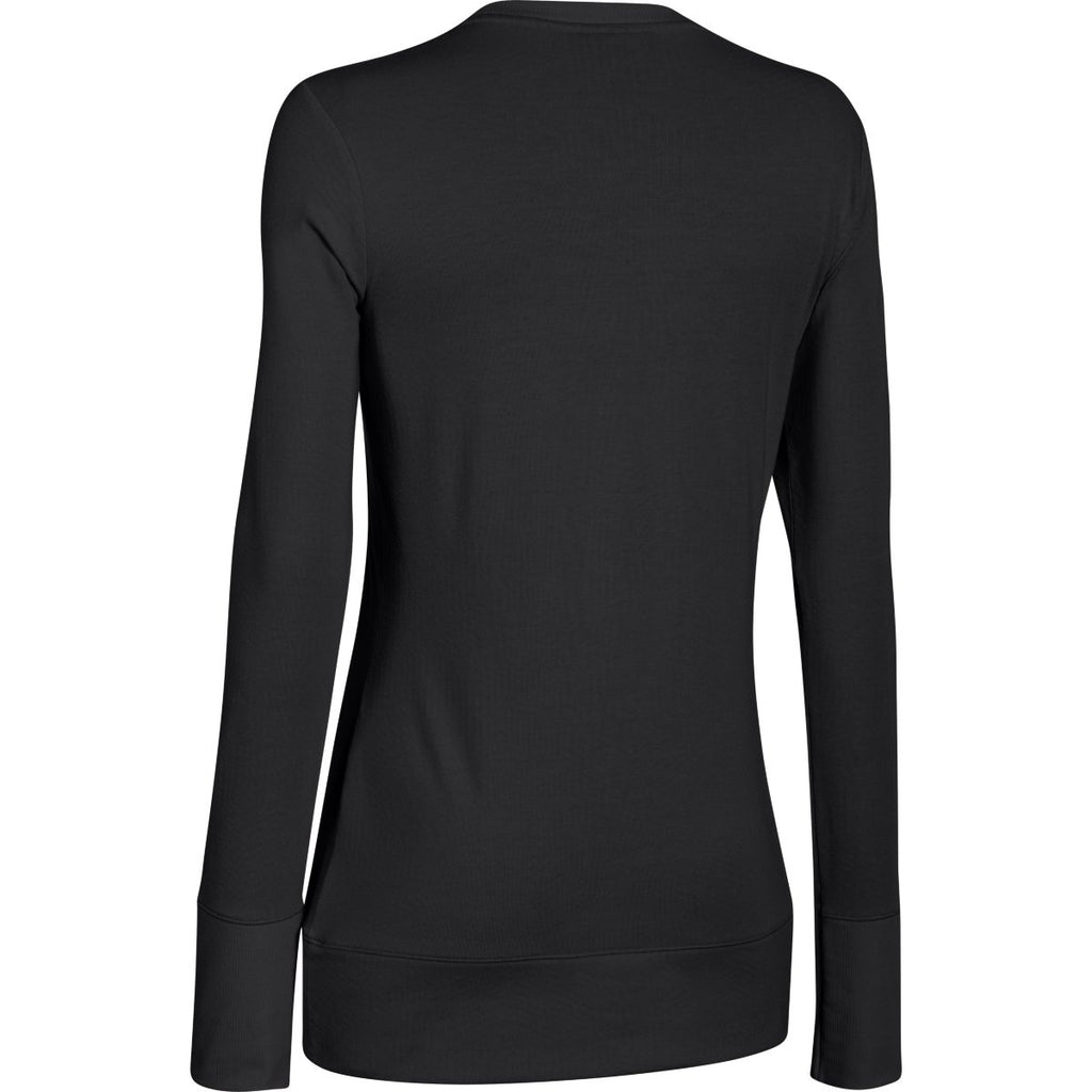 Under Armour Women's Black ColdGear Infrared L/S