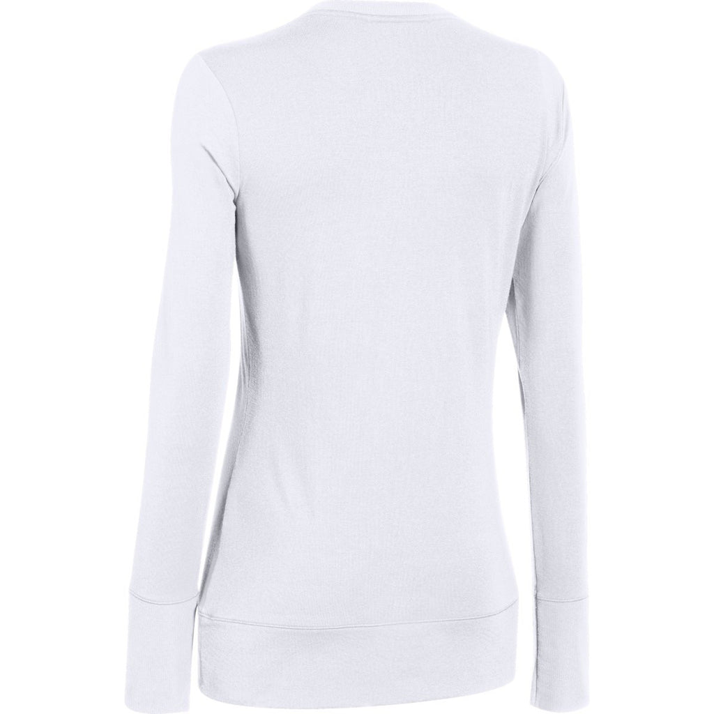 Under Armour Women's White ColdGear Infrared L/S