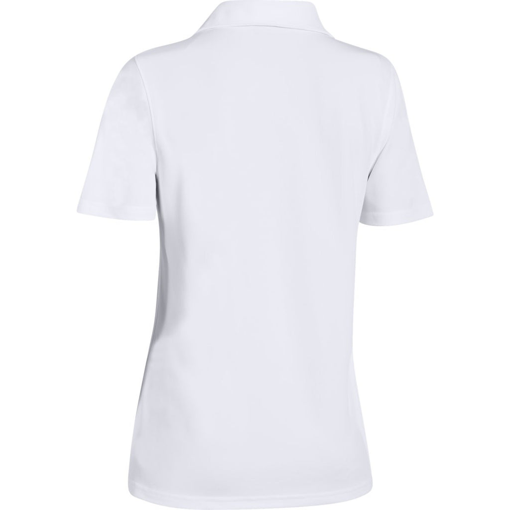 Under Armour Women's White Performance Team Polo