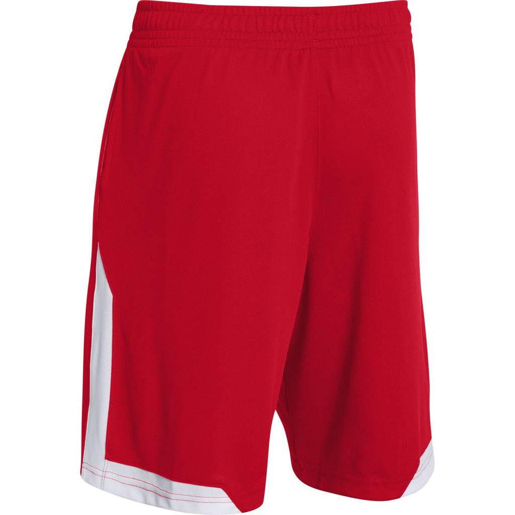 Under Armour Men's Red Assist Shorts