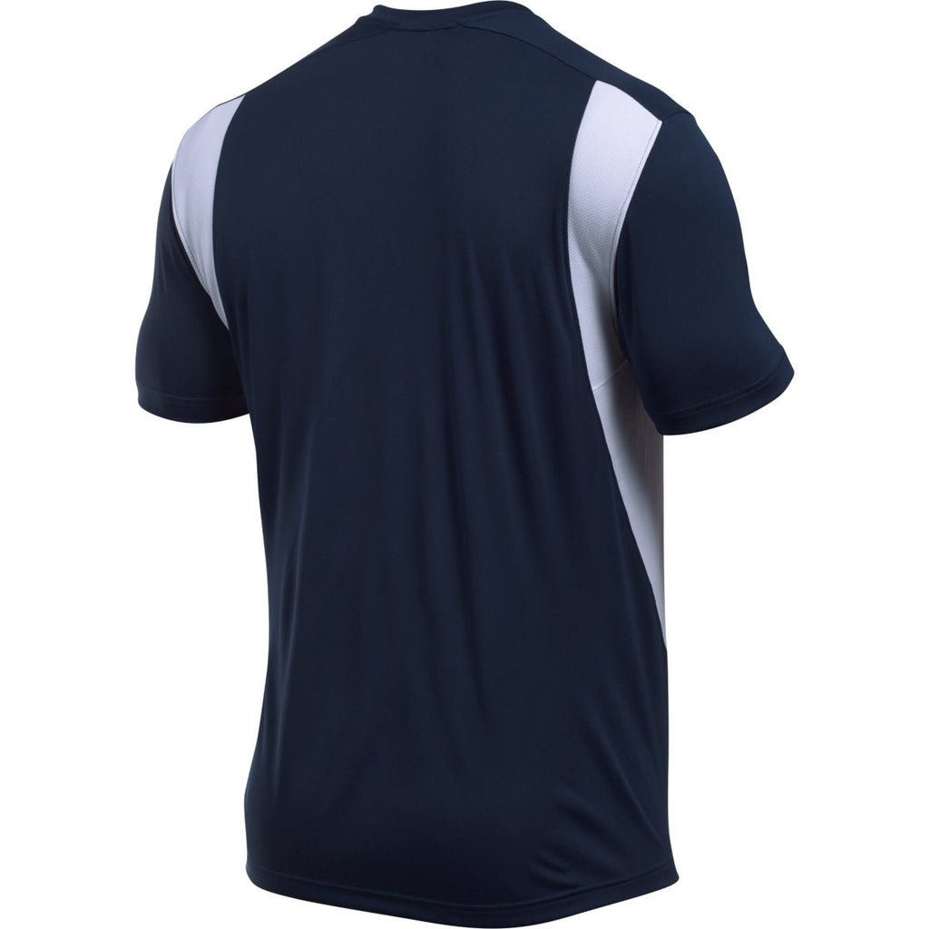 Under Armour Men's Navy Zone S/S T-Shirt