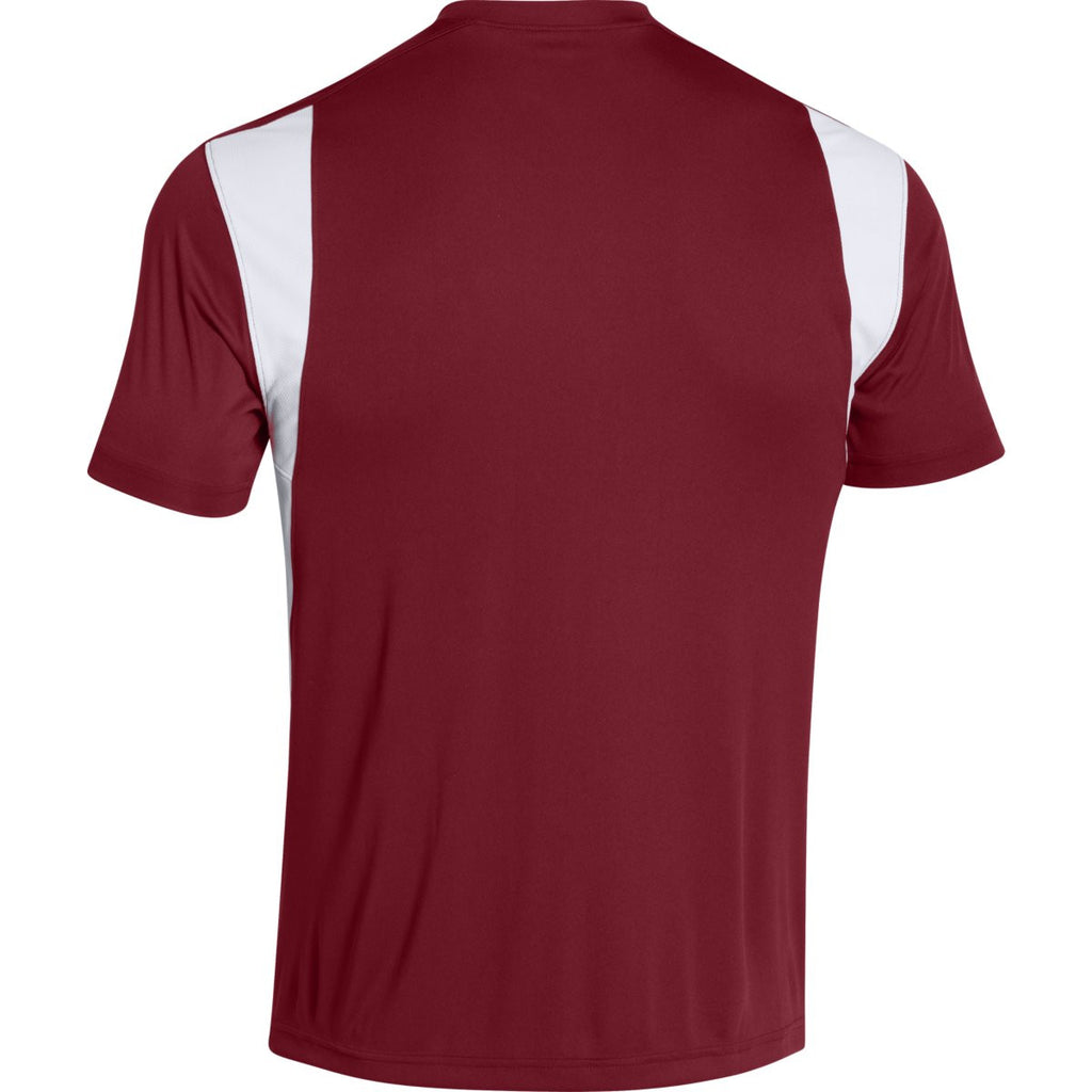 Under Armour Men's Cardinal Zone S/S T-Shirt