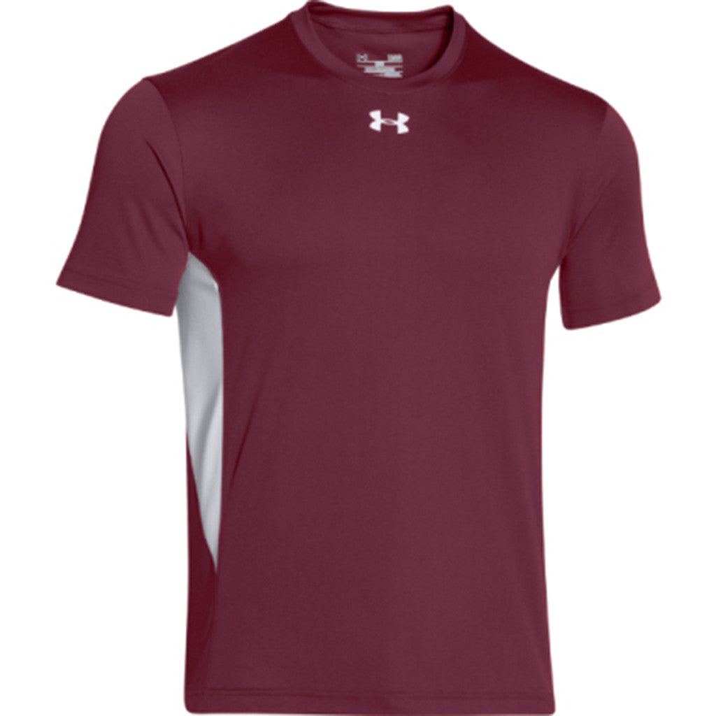 Under Armour Men 39 S Maroon Zone S S T Shirt