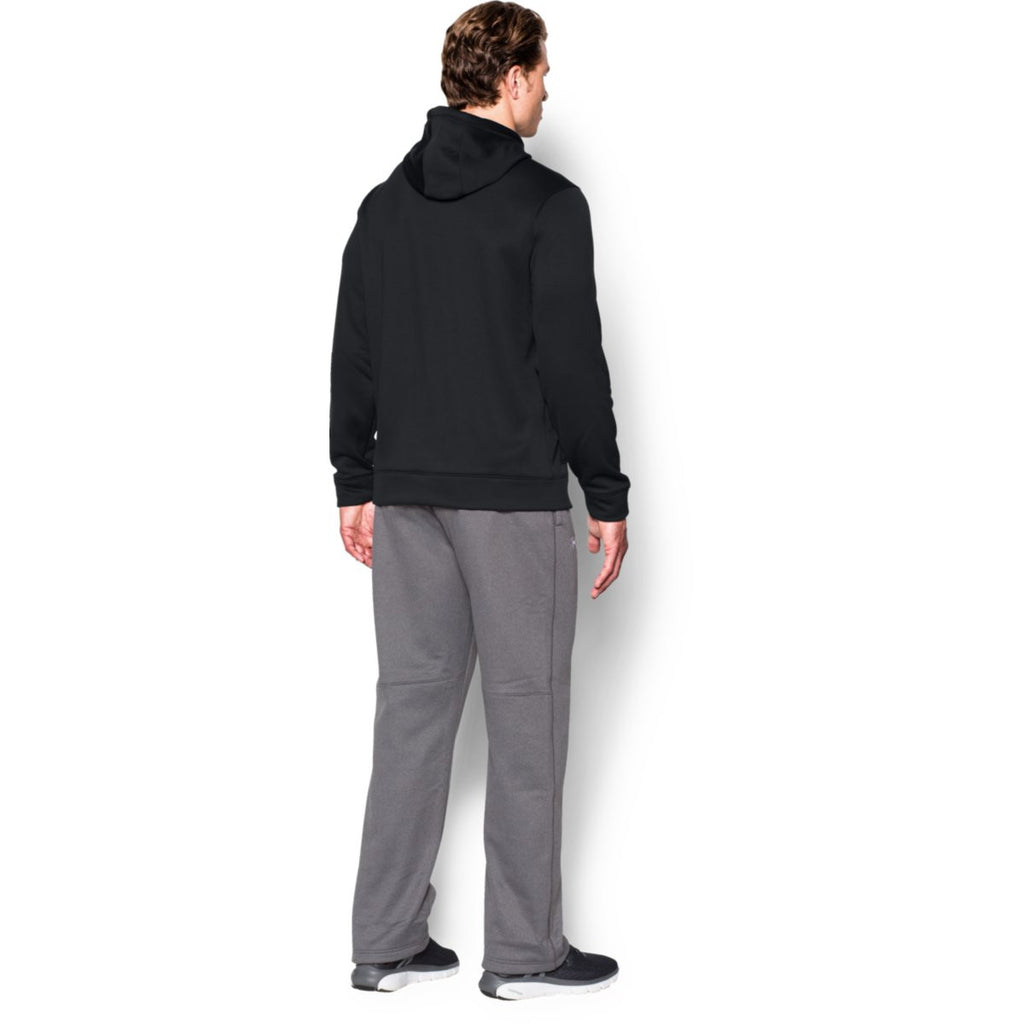 Under Armour Men's Black Storm Armour Fleece Hoodie