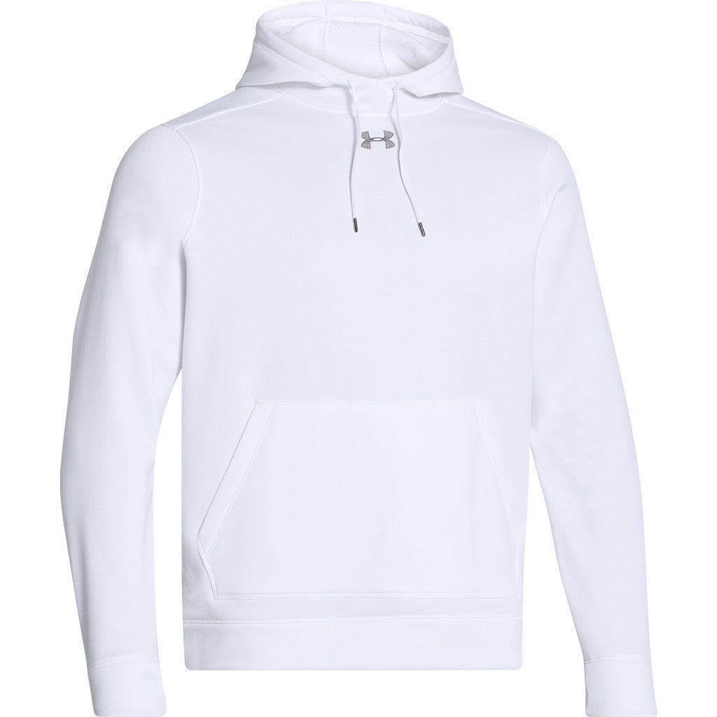 80ed548ff9a8 Under Armour Men s White Storm Armour Fleece Hoodie. ADD YOUR LOGO