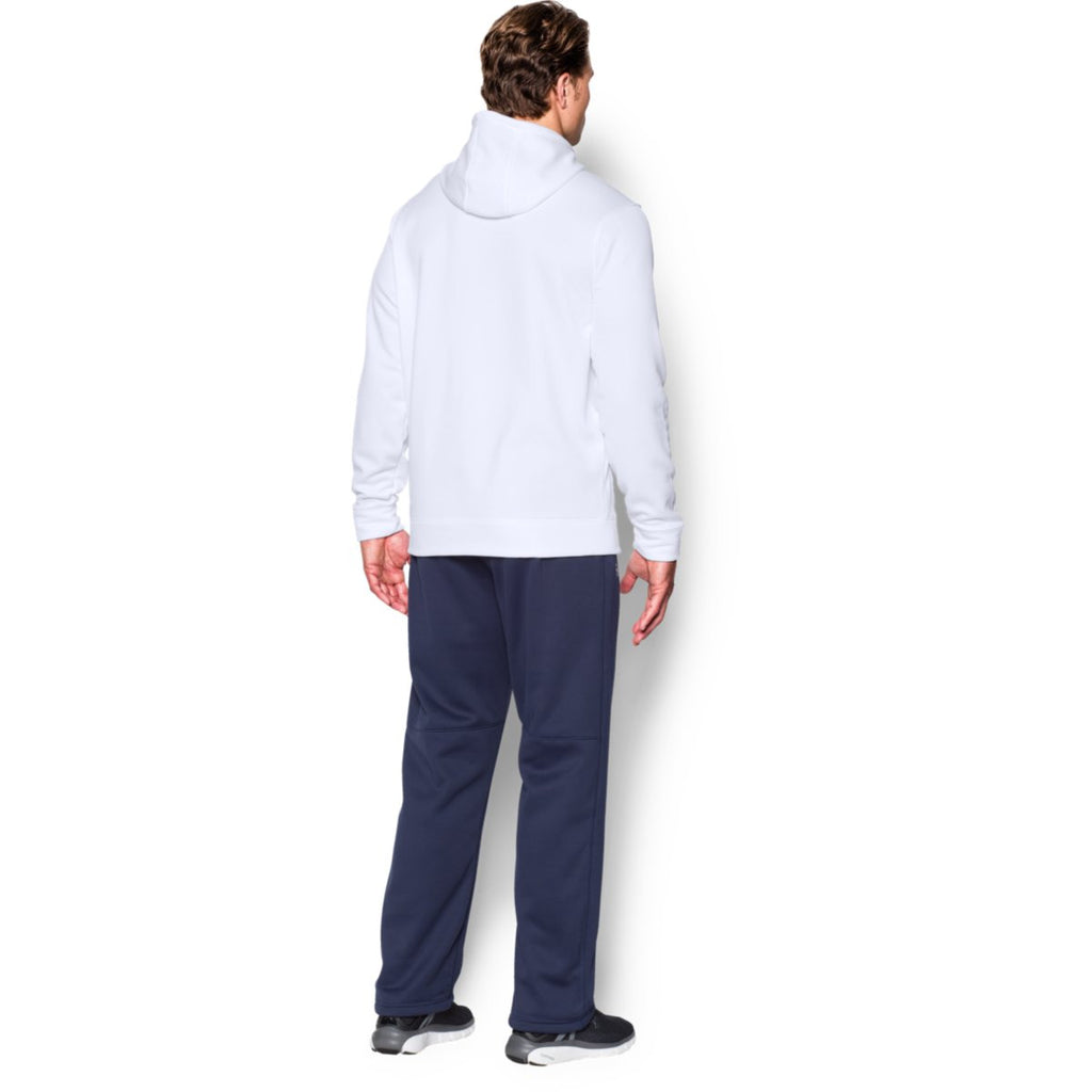 Under Armour Men's White Storm Armour Fleece Hoodie