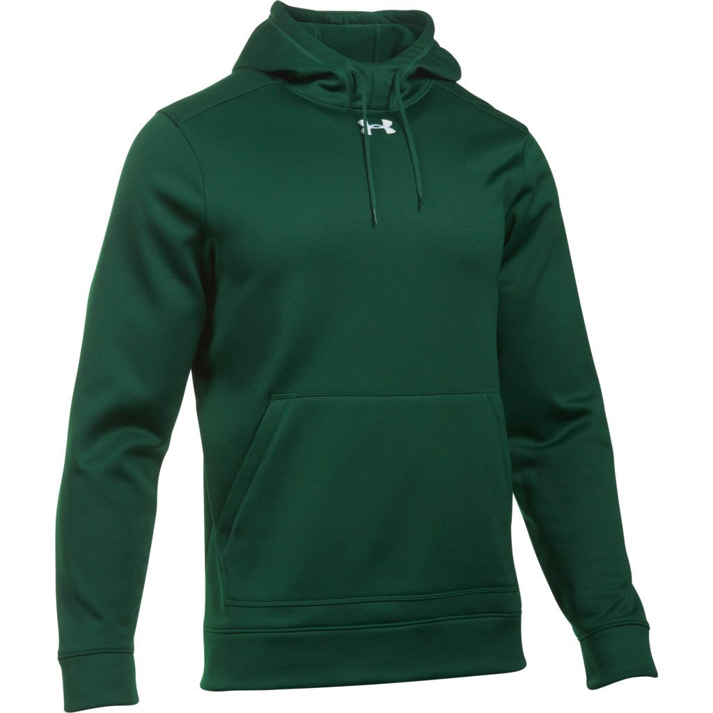 aa63199d7 Under Armour Men's Forest Green Storm Armour Fleece Hoodie. ADD YOUR LOGO
