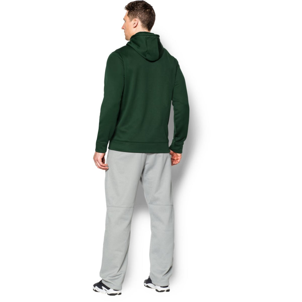 Under Armour Men's Forest Green Storm Armour Fleece Hoodie