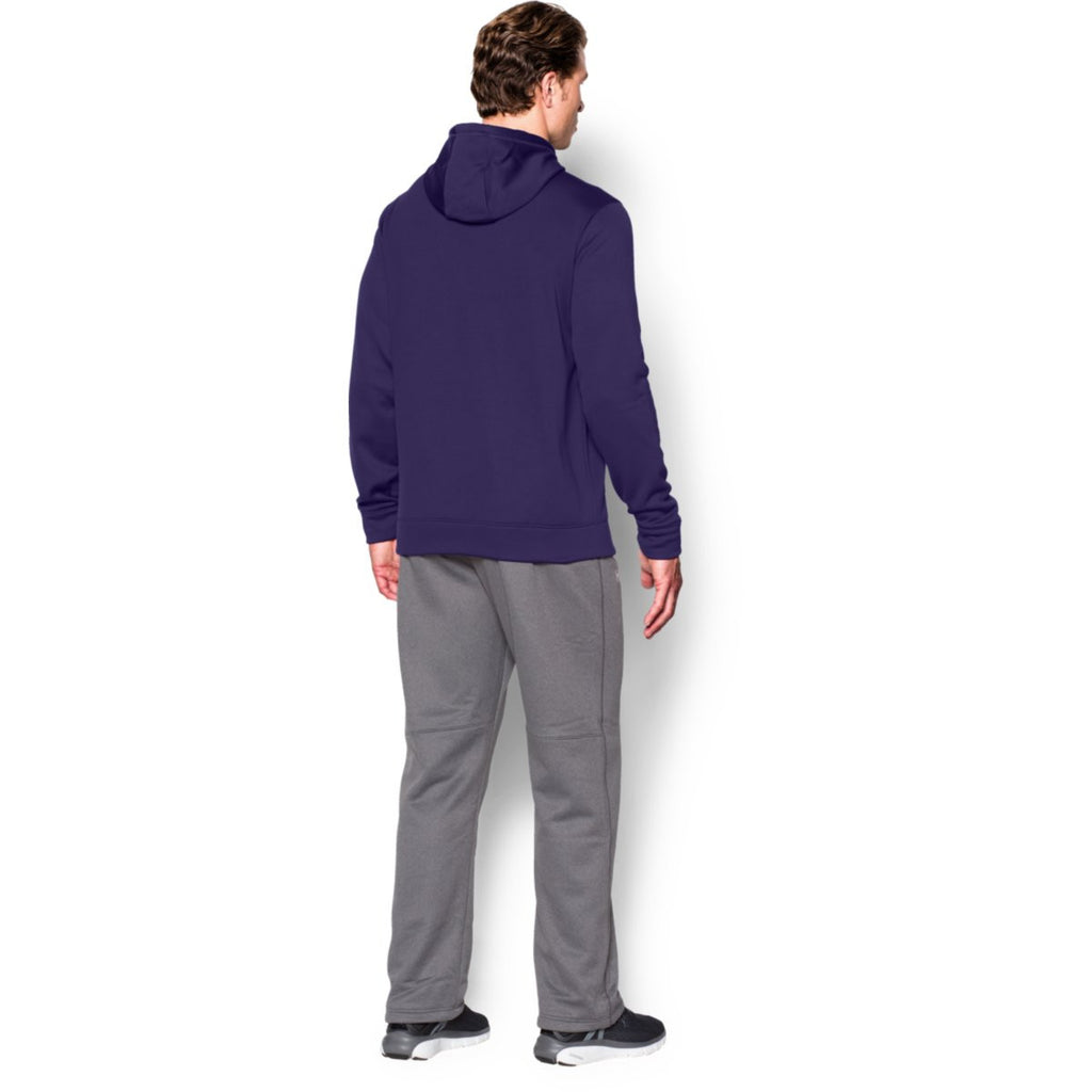 Under Armour Men's Purple Storm Armour Fleece Hoodie