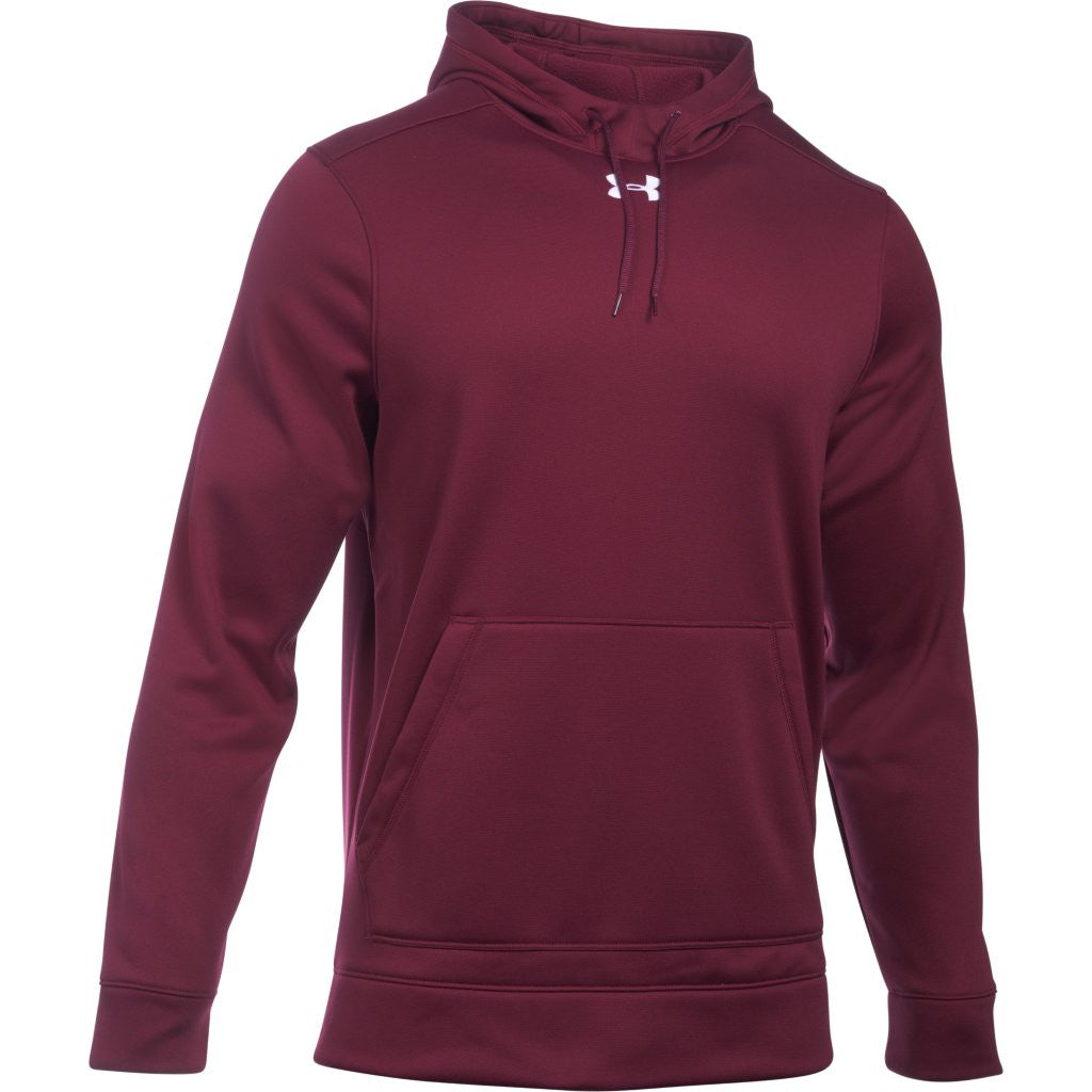 Under Armour Men s Maroon Storm Armour Fleece Hoodie. ADD YOUR LOGO e459510bce74