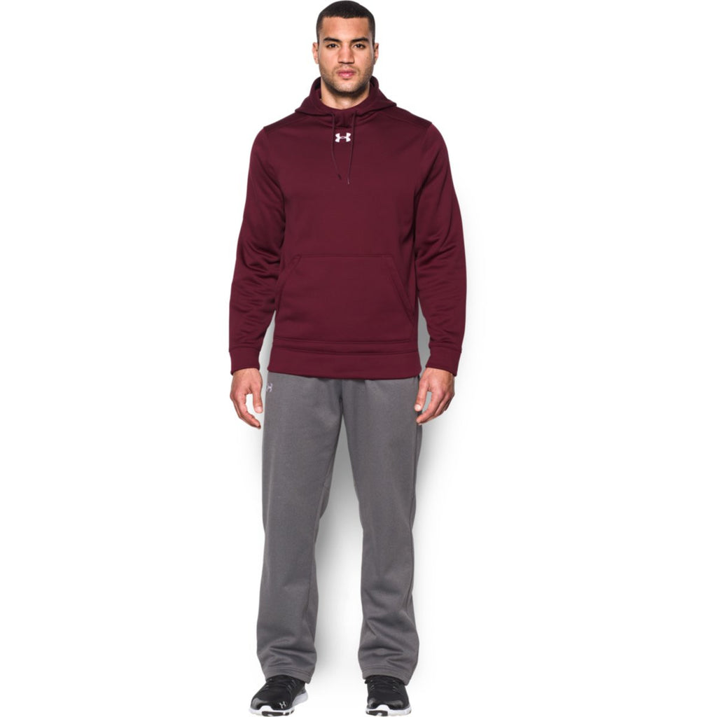 Under Armour Men's Maroon Storm Armour Fleece Hoodie