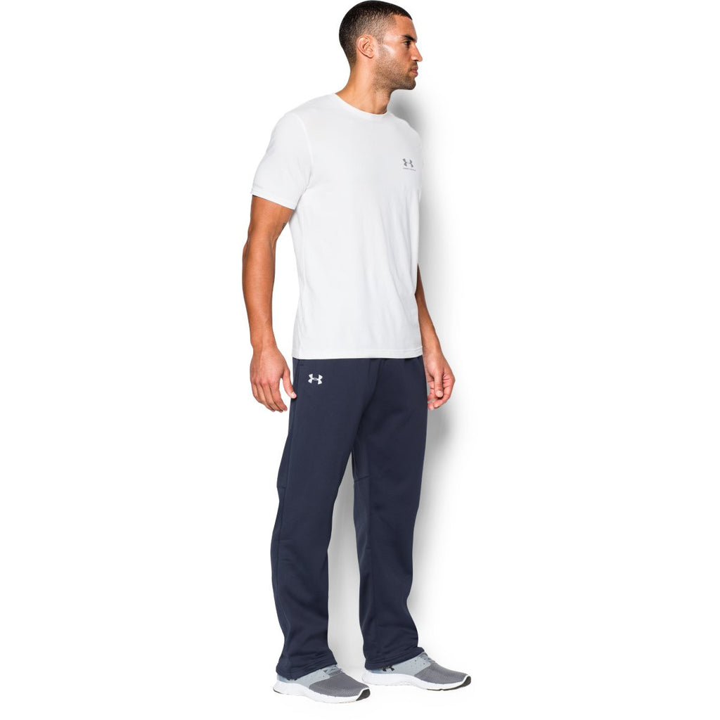 Under Armour Men's Navy Storm Armour Fleece Pant