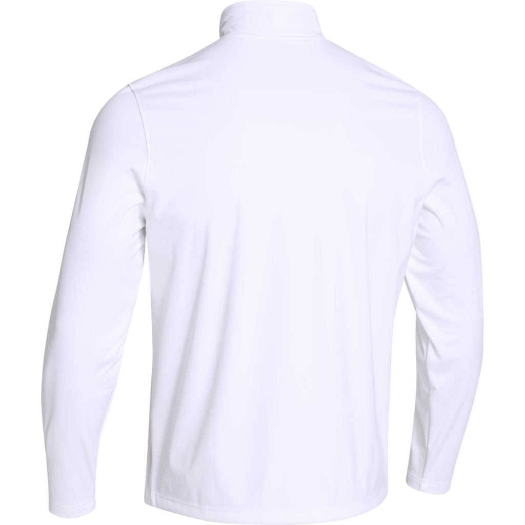 Under Armour Men's White Ultimate Team Softshell Jacket