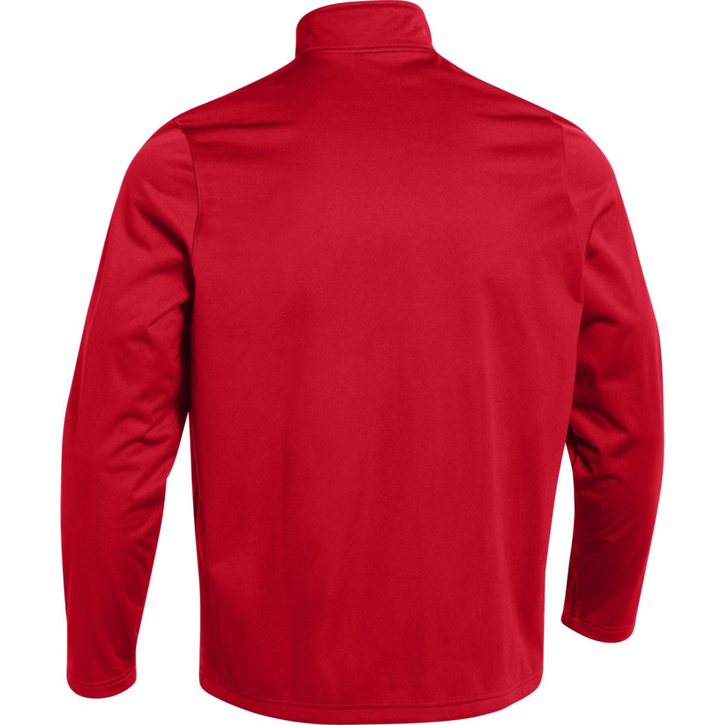 Under Armour Men's Red Ultimate Team Softshell Jacket
