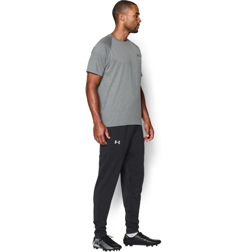 Under Armour Men's Black Futbolista Track Pants