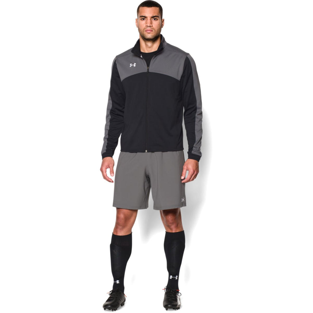 Under Armour Men's Black Futbolista Jacket