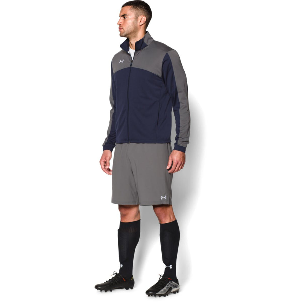 Under Armour Men's Navy Futbolista Jacket