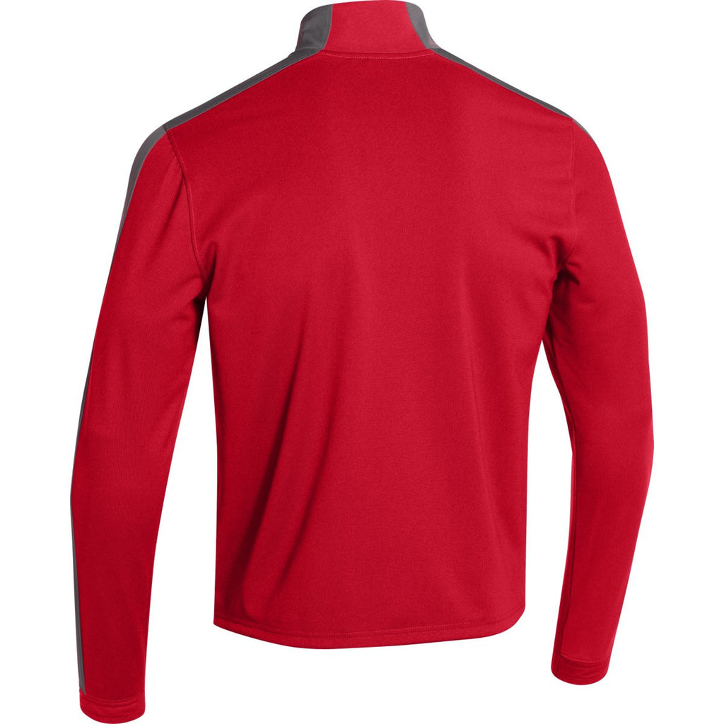 Under Armour Men's Red Futbolista Jacket