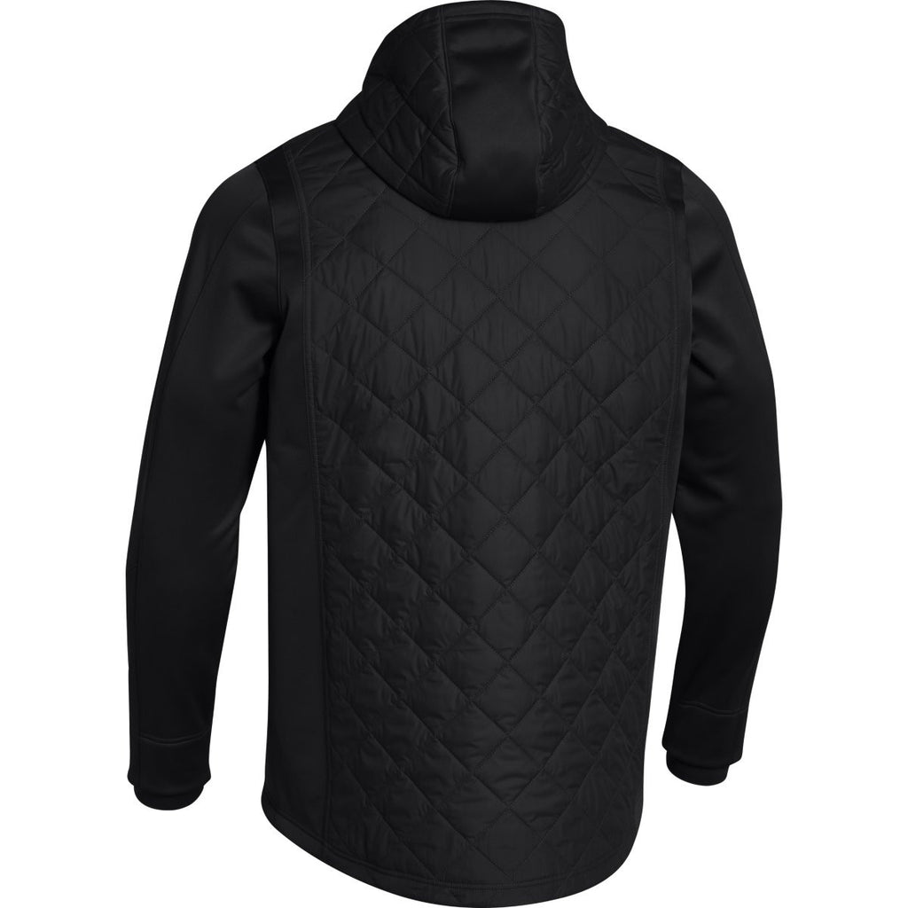 Under Armour Men's Black ColdGear Infrared Hybrid Full Zip Jacket
