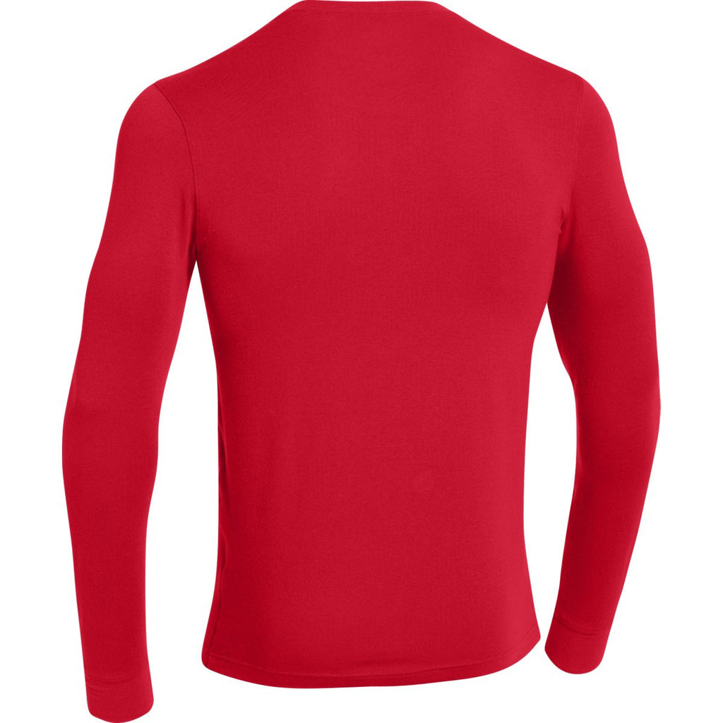 Under Armour Men's Red ColdGear Infrared Crew