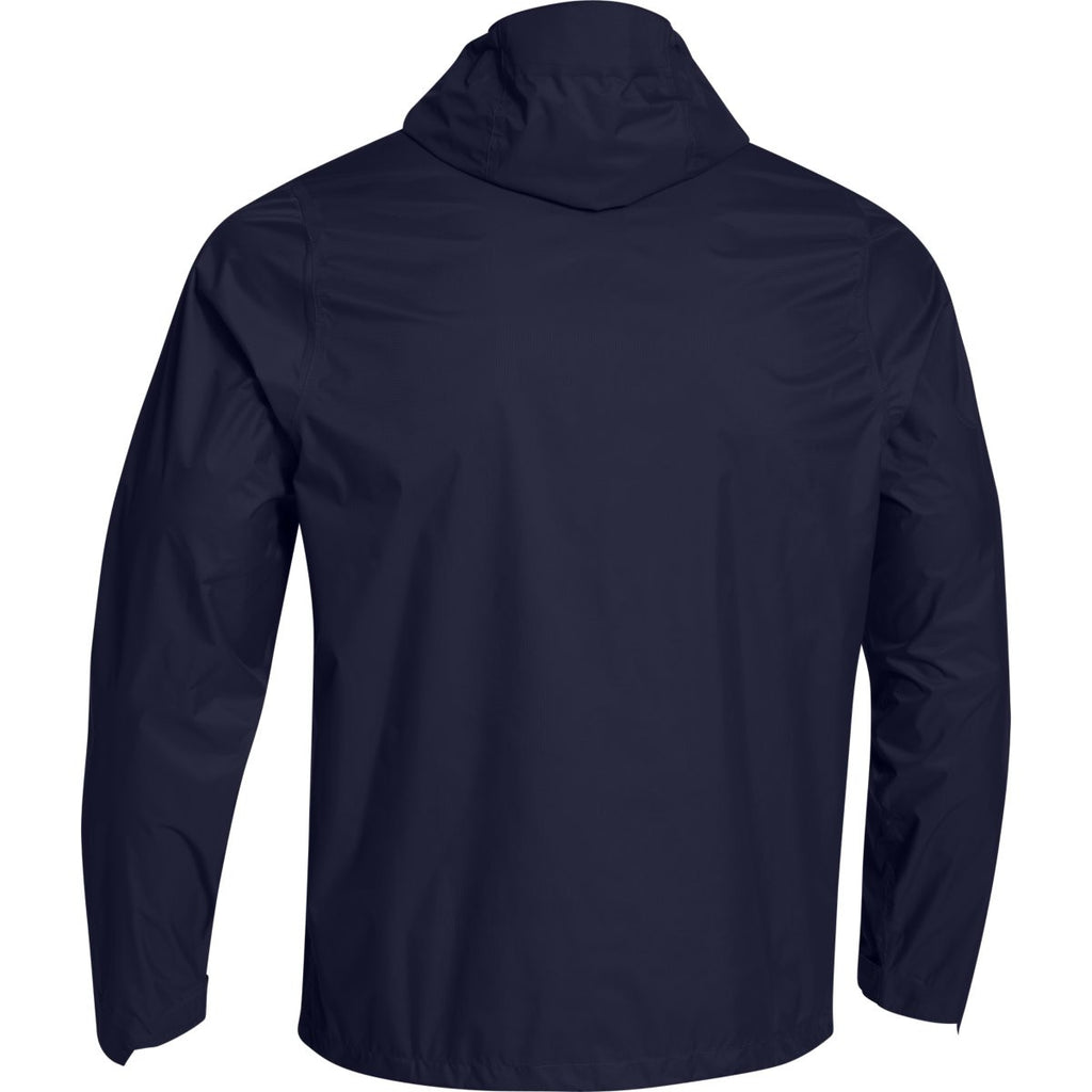 Under Armour Men's Midnight Navy Ace Rain Jacket