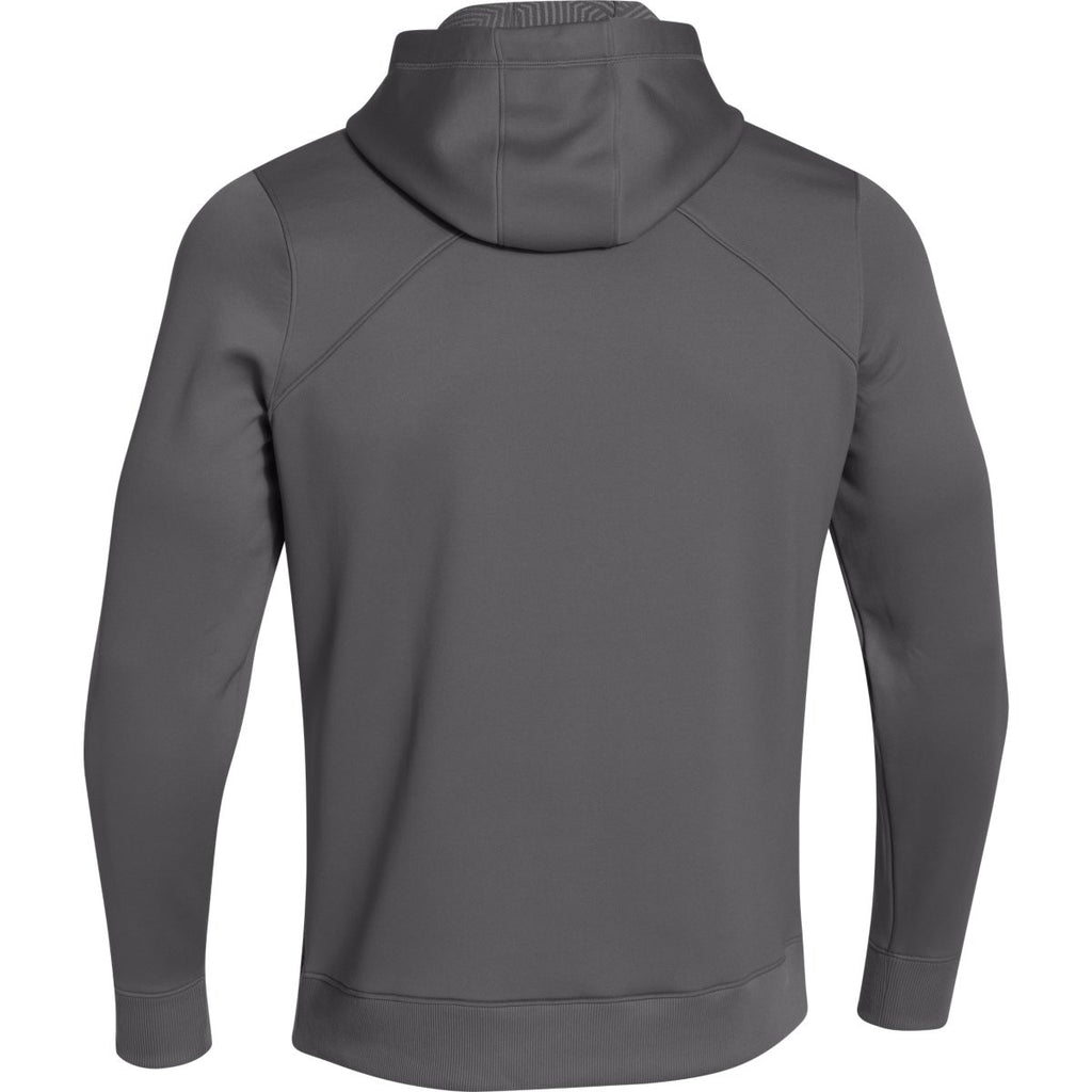 Under Armour Men's Graphite Coldgear Infrared Elevate Hoodie