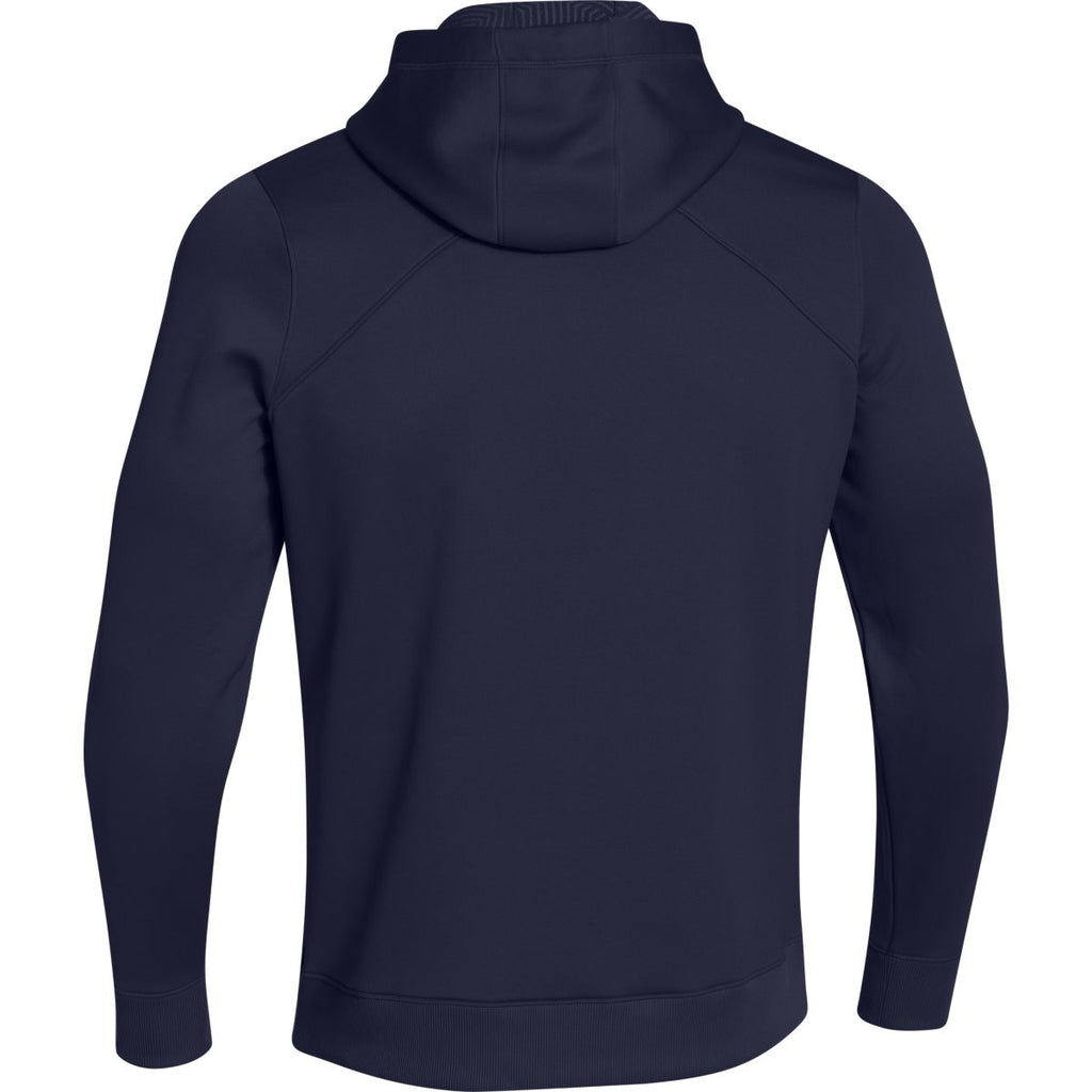 Under Armour Men's Midnight Navy Coldgear Infrared Elevate Hoodie