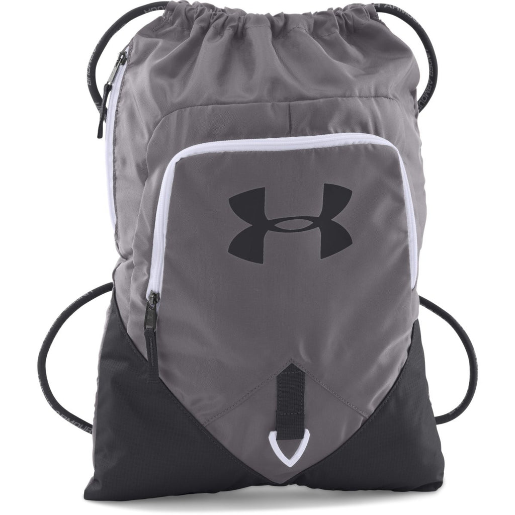 af1395e0d1f6 Under Armour Graphite Undeniable Sackpack. ADD YOUR LOGO