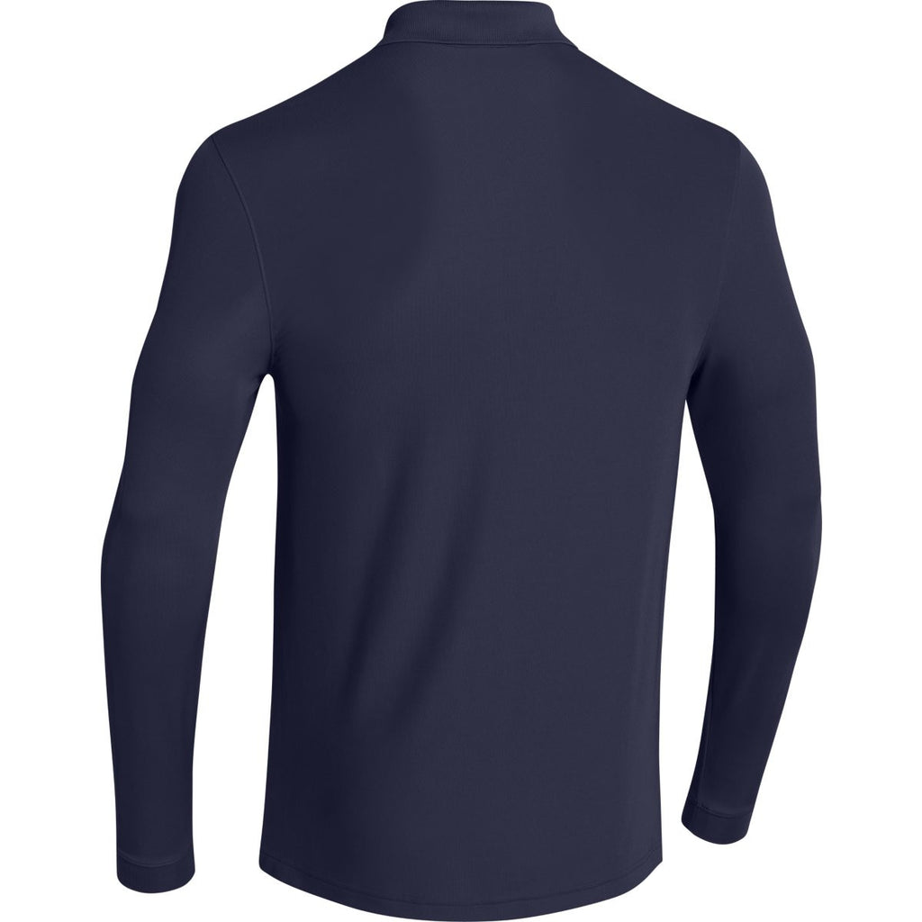 Under Armour Men's Navy Performance L/S Polo