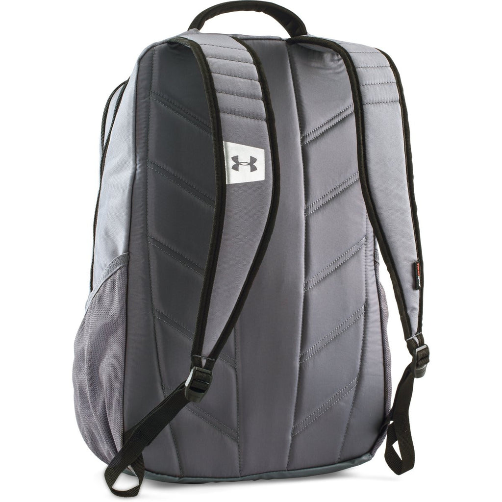 Under Armour Graphite/Black UA Hustle II Backpack
