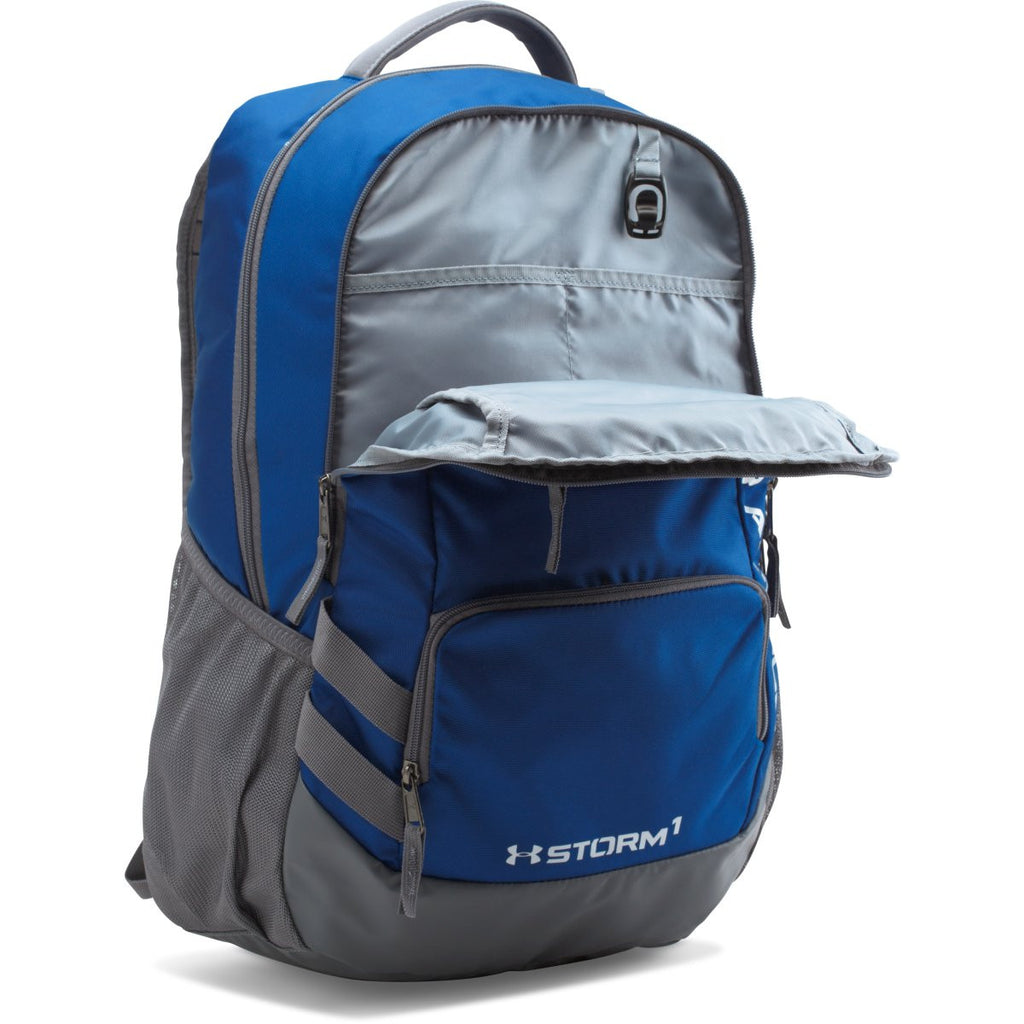 Under Armour Royal/Grey UA Hustle II Backpack