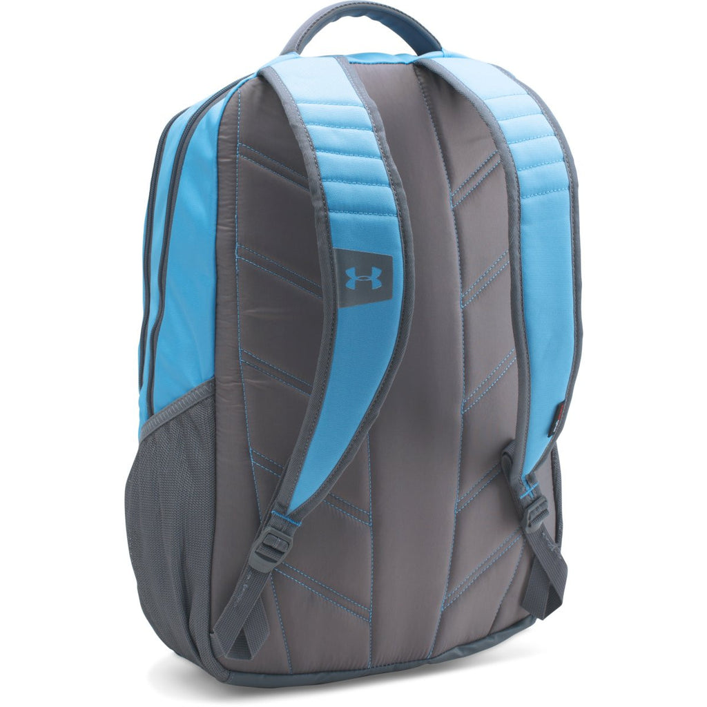 Under Armour Carolina Blue/Black UA Hustle II Backpack