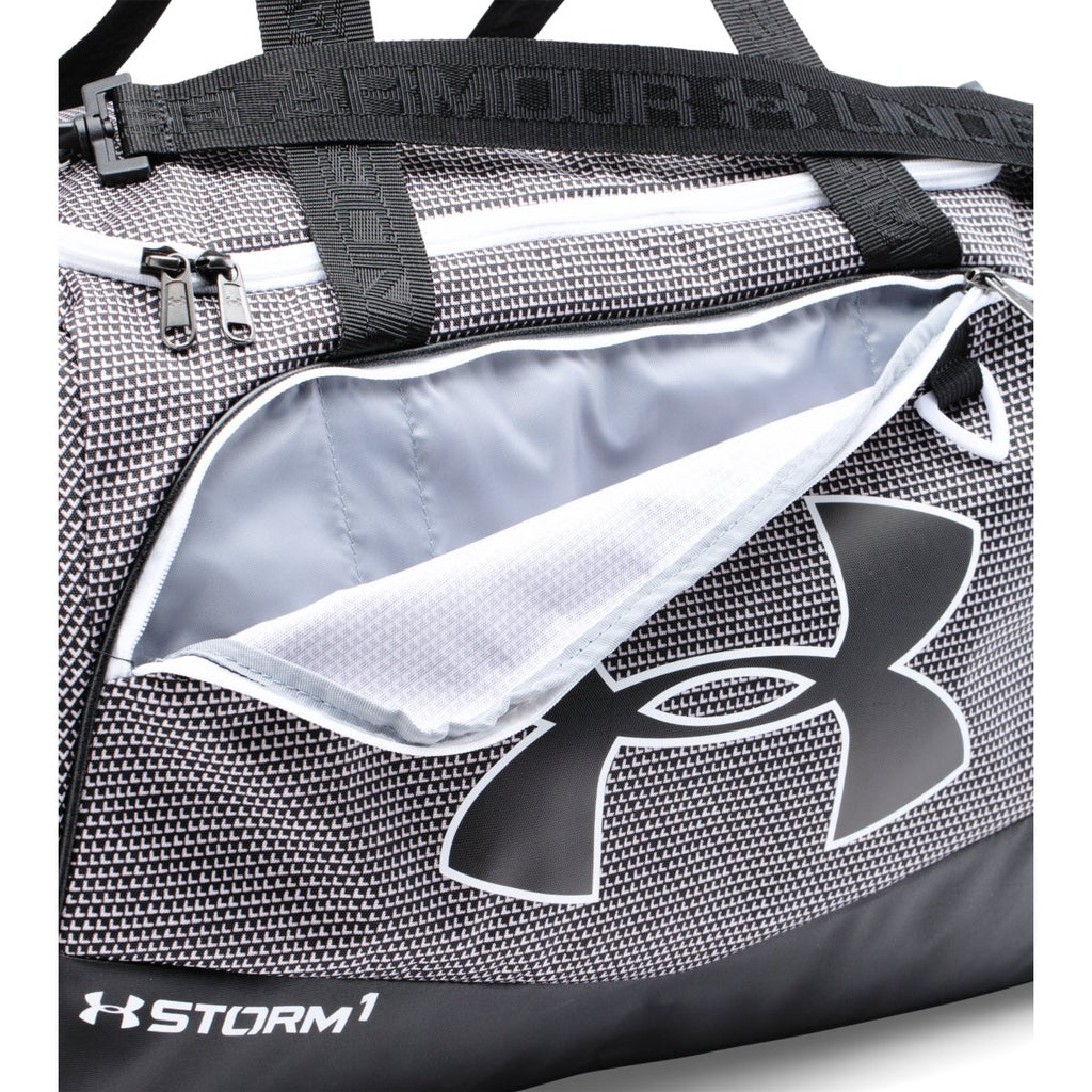 Under Armour Black/White UA Undeniable Small Duffel