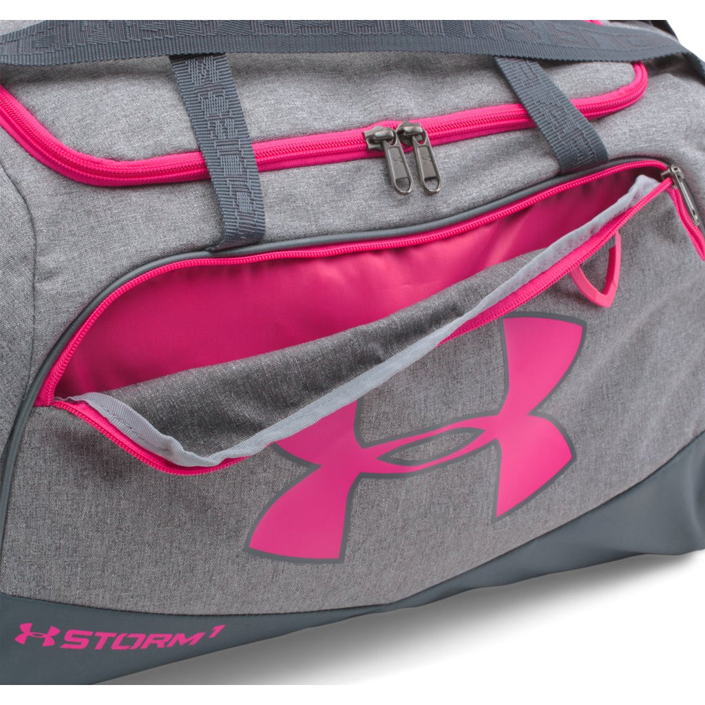 Under Armour Pink/Graphite UA Undeniable Small Duffel