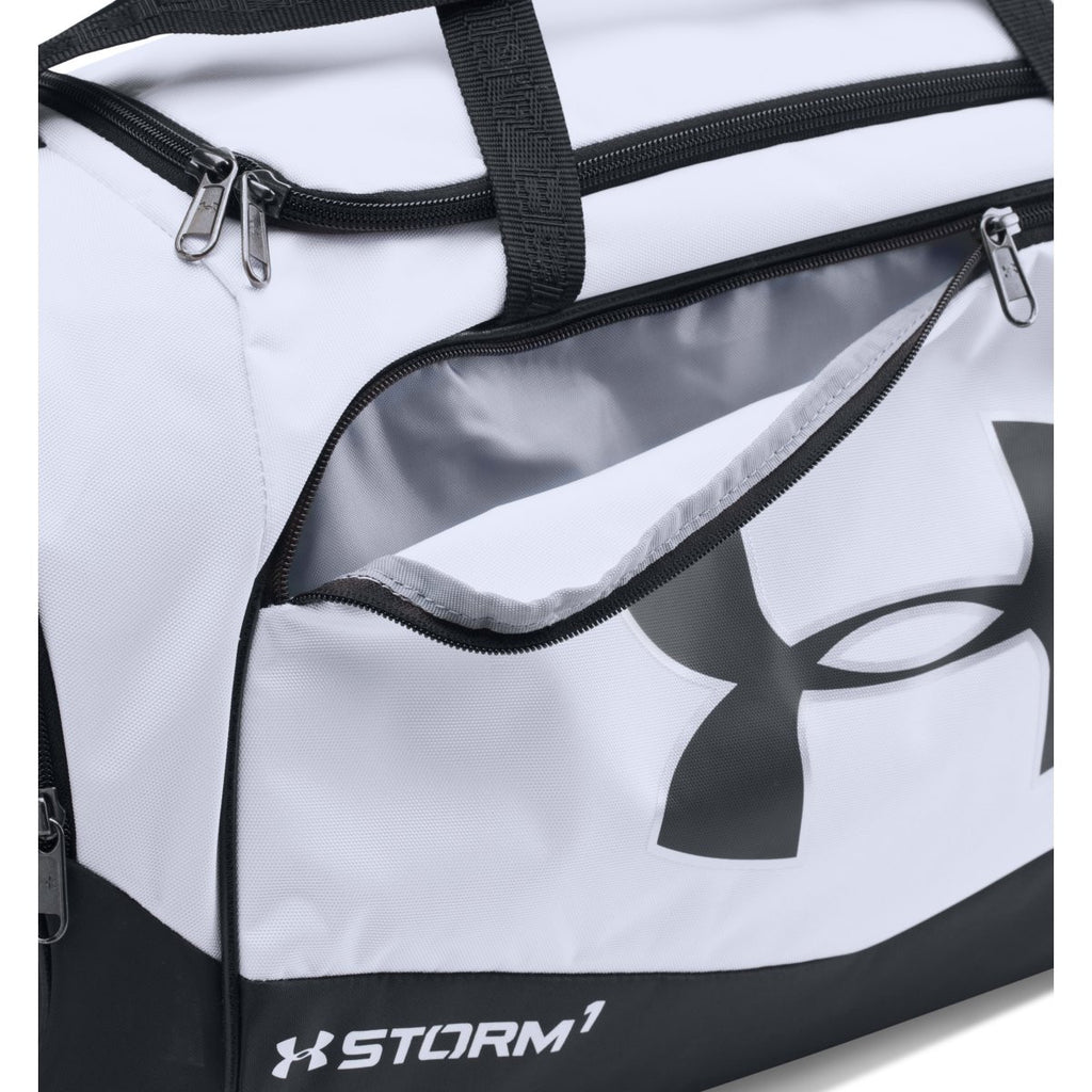 Under Armour White/Black UA Undeniable Small Duffel