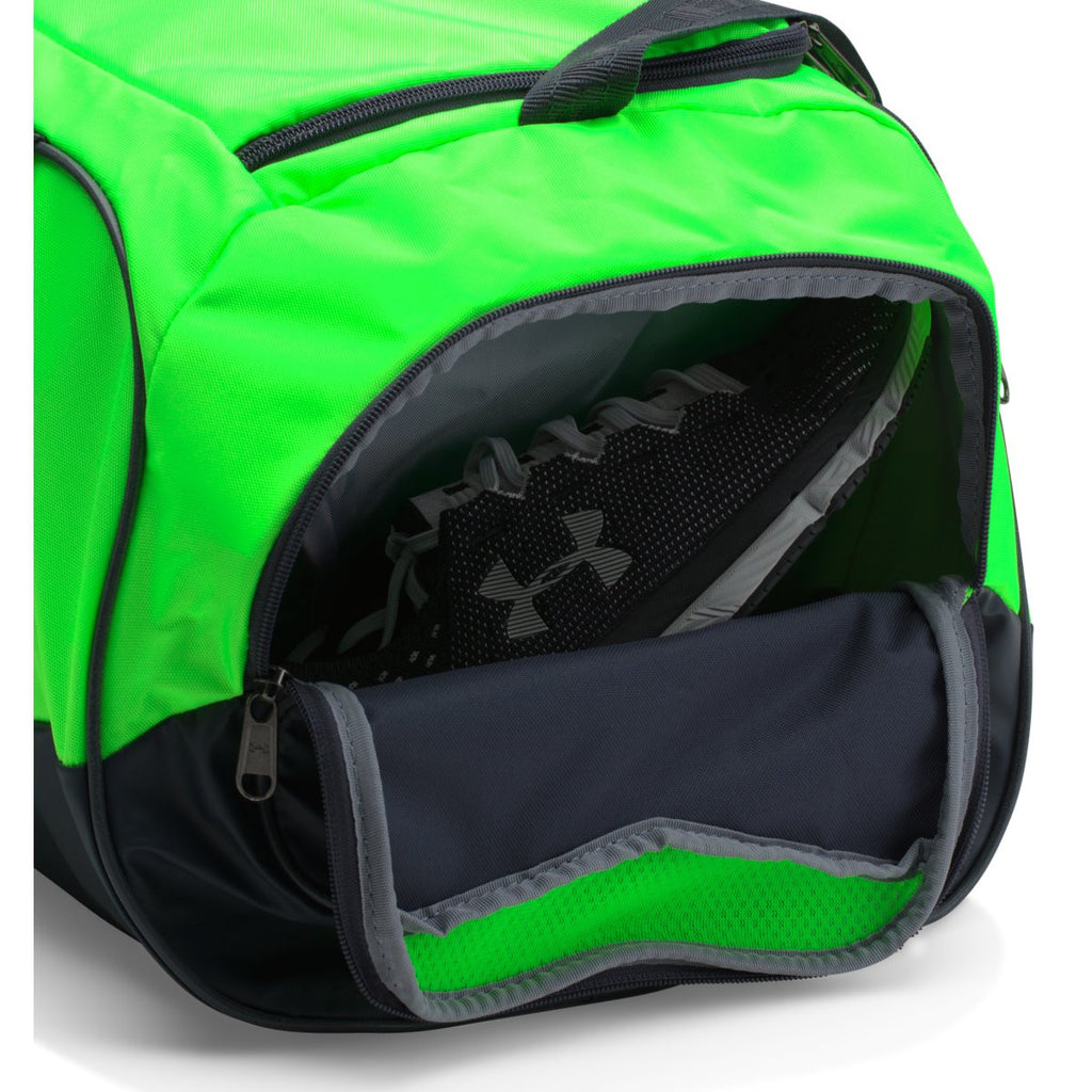 Under Armour Green/Black UA Undeniable Small Duffel