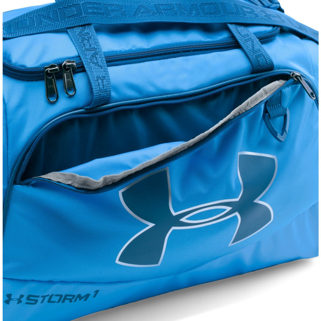 Under Armour Water Blue/Graphite UA Undeniable Small Duffel