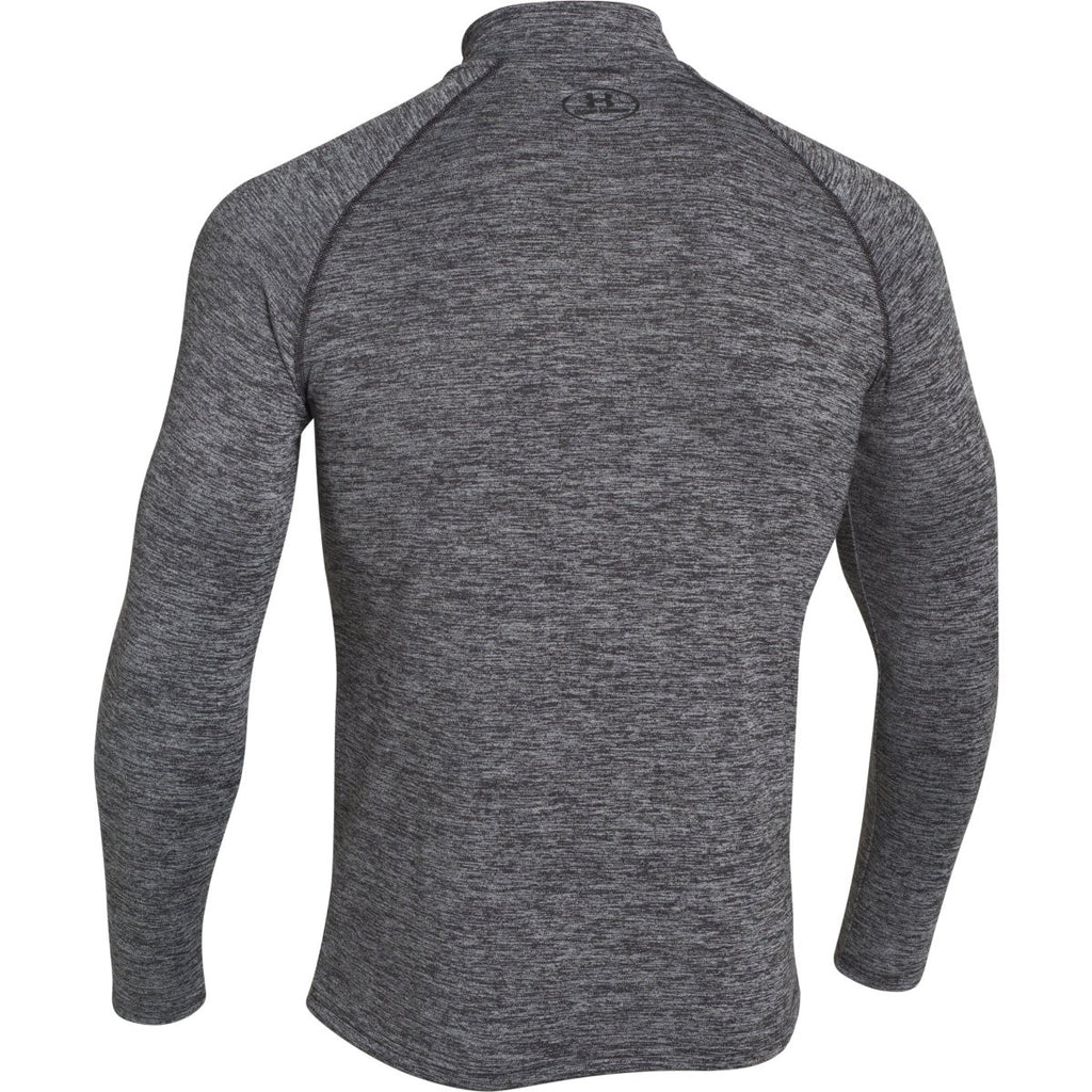 Under Armour Men's Black Twisted Tech Quarter Zip