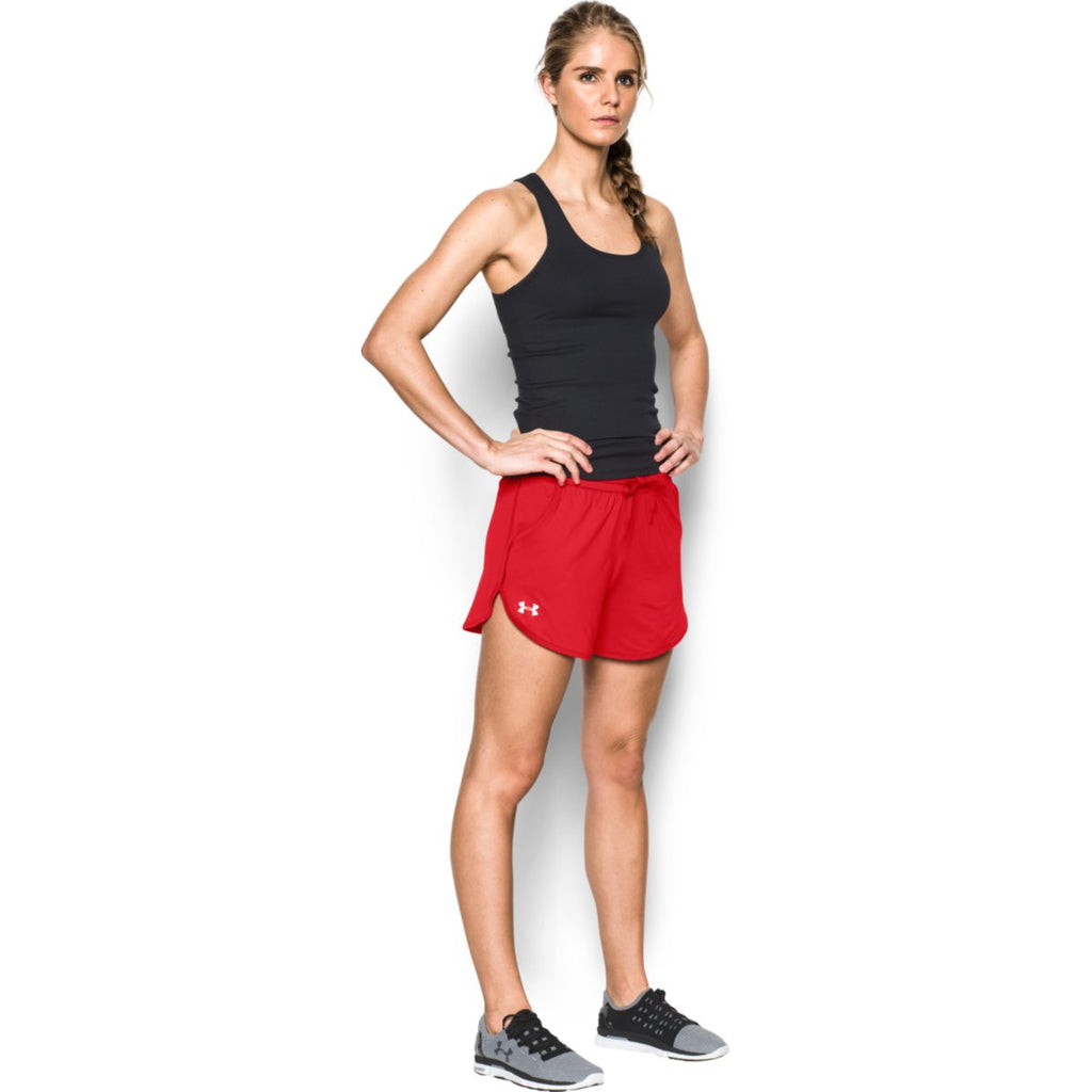 Under Armour Women's Red Assist Shorts
