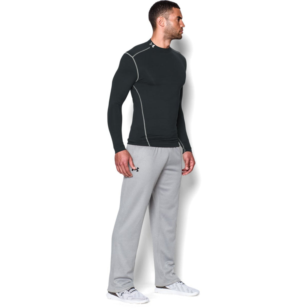 Under Armour Men's Black ColdGear Armour Compression Mock