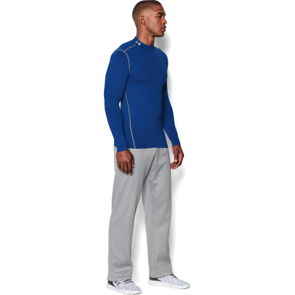 Under Armour Men's Royal ColdGear Armour Compression Mock